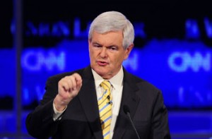 Newt Gingrich--Show me the money