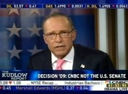 Larry Kudlow of CNBC. Never met a corporation he did not like.
