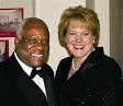 Virginia and Clarence Thomas