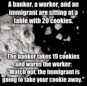 Banker saying