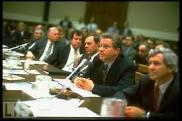Tobacco executives testifying